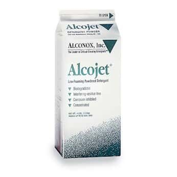 Alconox 1404 Alcojet Nonionic Low-Foaming Powdered Detergent, 4lbs Box