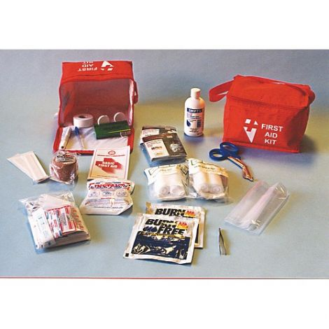 """Kit, First Aid, 15 Person, Zippered Storage Case, 23"""" x 16"""" x 18"""""""