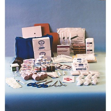 """Kit, First Aid, 50 Person, Zippered Bag, 22"""" x 12"""" x 12"""""""
