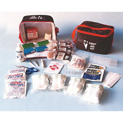 Kit, First Aid, 8 Person, Zippered Bag