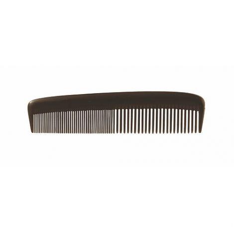 "Comb, Hair, 5"", Black, Plastic"
