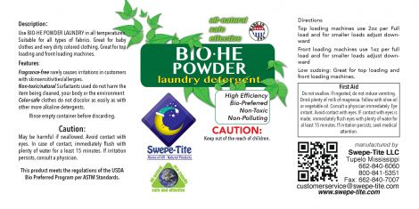BIO-HE POWDER LAUNDRY