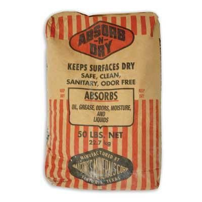 CLAY ABSORBENT
