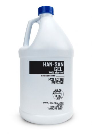HAN-SAN GEL   Hand Sanitizer