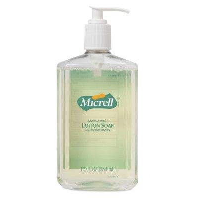 MICRELL® Antibacterial Lotion Soap 12 fl oz Pump Bottle