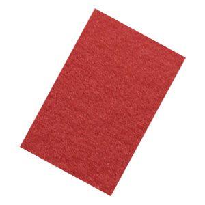 "S-32 Disk Auto Scrubbers Accessories Pad, 16"" Red scrub , case of 5"